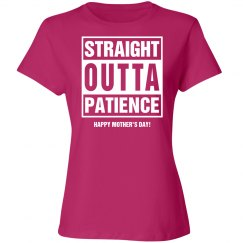 Straight outta Patience
