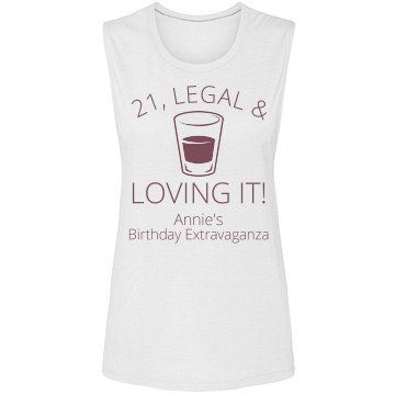 21 & Loving It Birthday