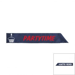 Youths Partytime Sash