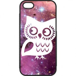 Owl and Galaxy