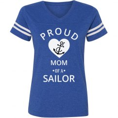 Proud mom of a sailor