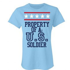 Property of a US Soldier
