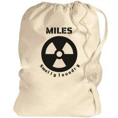 MILES. Laundry bag