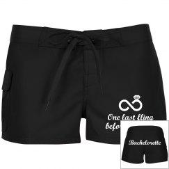 Bachelorette Shorts