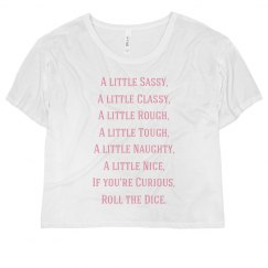 Roll the Dice - Women's Tee