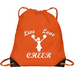 Live love cheer bag