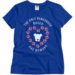 Dog Lovers Slogan T-Shirt