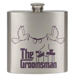 The Groomsman Hip Flask