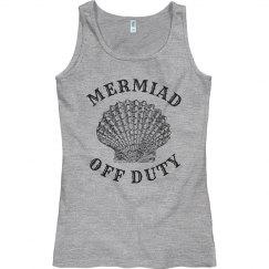 Mermaid off duty shirt