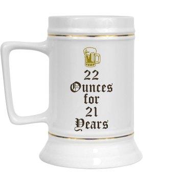 21st Birthday Beer Boy