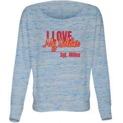 Love My Soldier Top