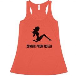 Zombie Prom Queen Halloween Tank