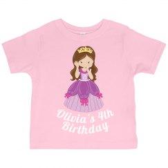 Pretty Pink Princess Birthday
