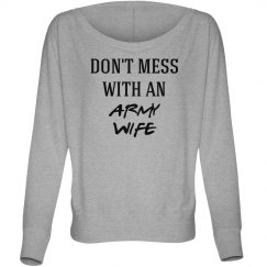Don't mess with army wife