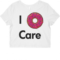 i donut care croptop