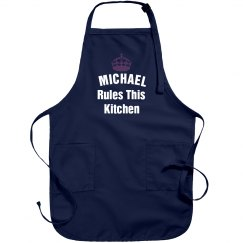 Michael rules the kitchen