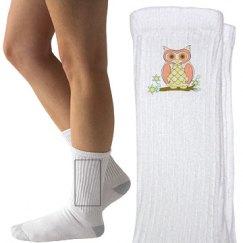 Cute Colorful Owl Socks
