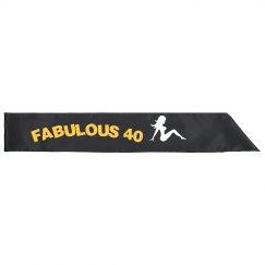 Fab 40 Sash