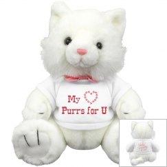 Medium Valentine Kitty