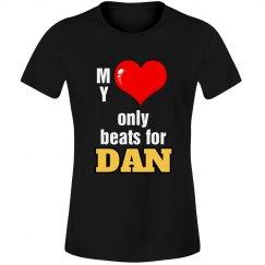 Heart beats for Dan