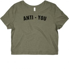 Anti-You Crop Top