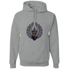 Winged- Heart w/Crown