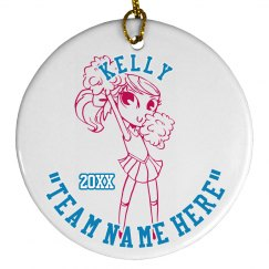 Cheer Team Ornament