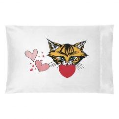 Tiger Love Pillowcase