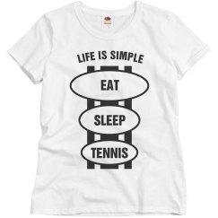 Eat sleep Tennis