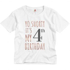 4th Birthday Tank Top