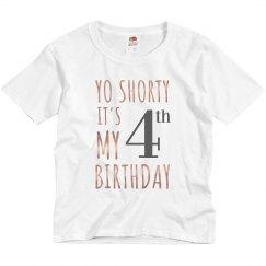 4th Birthday Tank Top