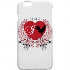 I Heart BBC iPhone 6 Plastic Case