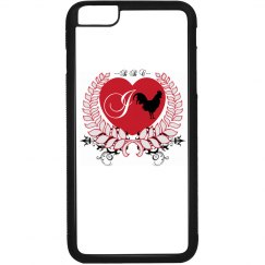 I Heart BBC iPhone 6 Plus Plastic and Rubber Case