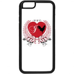 I Heart BBC iPhone 6 Plastic and Rubber Case