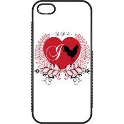 I Heart BBC iPhone 5 / 5s Plastic & Rubber Case