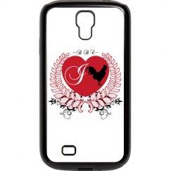 I Heart BBC Samsung Galaxy S 4 Rubber & Plastic Case