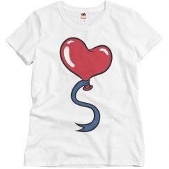 Love Heart Balloon Tee