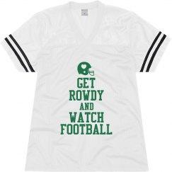 Keep Calm Football Mesh