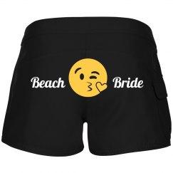 Beach Bride Emoji