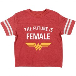 Wonder Girl Future is Female