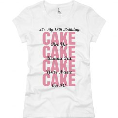 18th Birthday Party Shirt