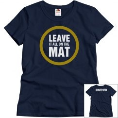 Leave it on the Mat