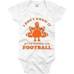 Thankful For Football Kid