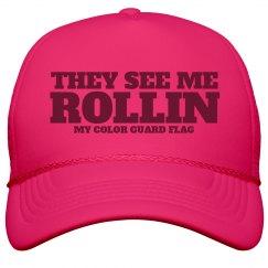Rollin Color Guard Flag Hat
