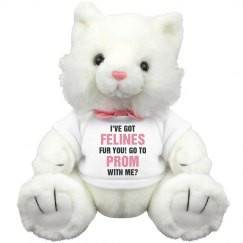 Got Felines Prom Date Cat Plush