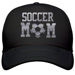 Metallic Soccer Mom Hat
