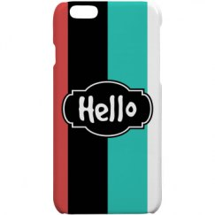 Hello (iPhone 5 Cover)