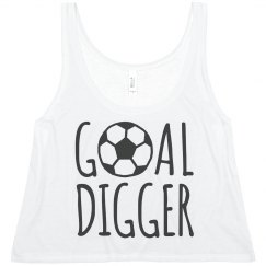 Goal Digger Crop Top