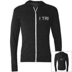 I TRI 70.3 rhinestone hoodie