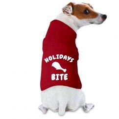 Holiday Bite Doggy Coat